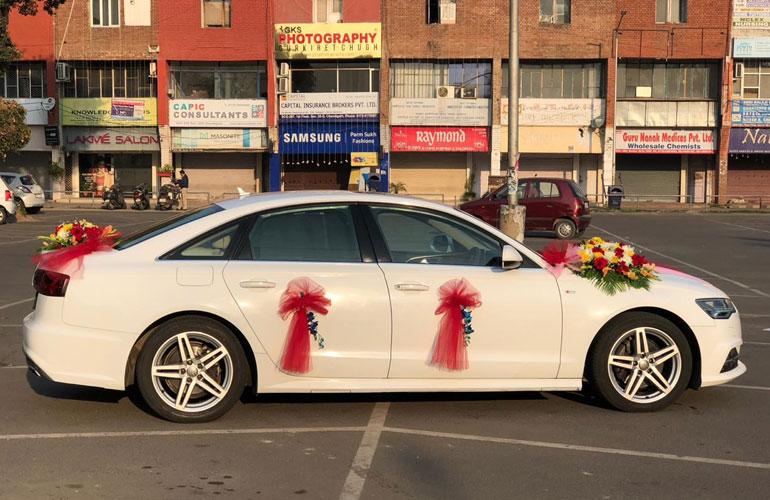 Ludhiana Rent a Car: Audi A6 Wedding Car Rental